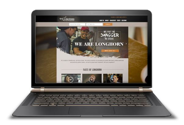 LongHorn career site