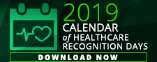 2019 healthcare recognition calendar download