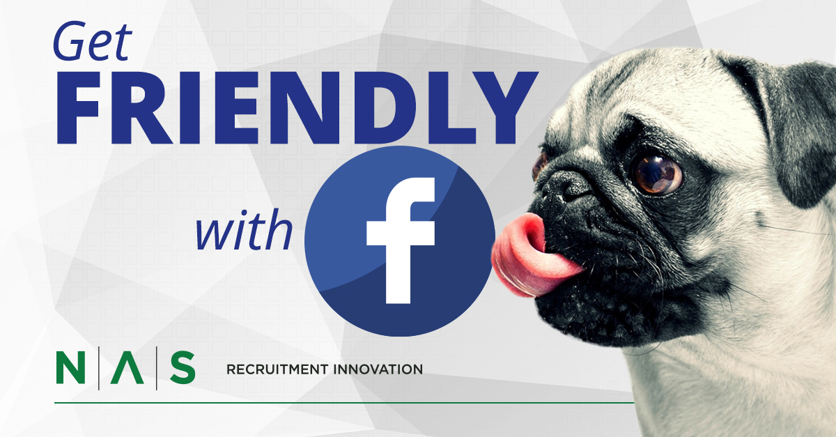 Connect with candidates using Facebook